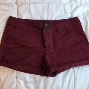 American Eagle Twill Midi shorts