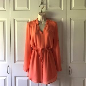 Dresses & Skirts - Coral Tunic Dress