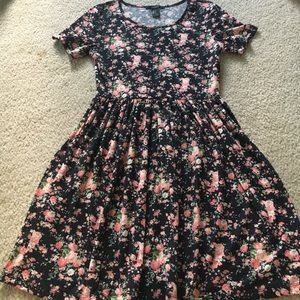 Forever 21 flowered dress