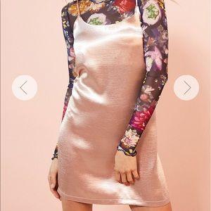 silence + noise Dresses & Skirts - Silence + noise, XS pink silky dress.