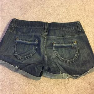 American Eagle Outfitters Shorts - Dark wash jean shorts