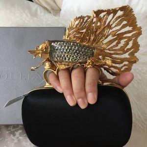 Alexander McQueen Handbags - Alexander McQueen Fish Knuckle Clutch