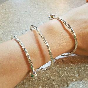 Jewelry - Sterling Silver Cleopatra Wrap bracelet.