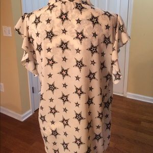 Zara Tops - ZARA top with stars. Tag says XL, but runs small
