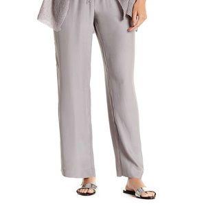 Acrobat Pants - NWT Acrobat wide leg drawstring silk pant