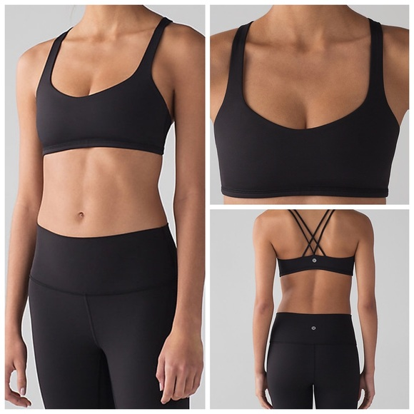 e5cfd7dcdadb6 lululemon athletica Other - Lululemon Black Free To Be Bra Size 2