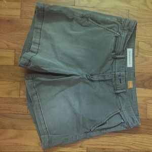 Anthropologie Pants - Pilcro and the letterpress army green shorts