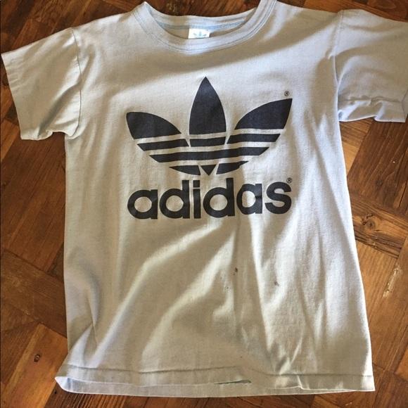 0d69dd3838818 adidas Tops - Vintage adidas trefoil logo t shirt double sided