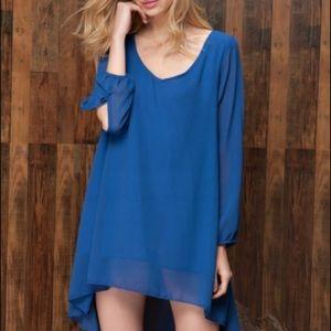 OASAP Dresses & Skirts - Chiffon Relaxed Mini Loose Fit Dress
