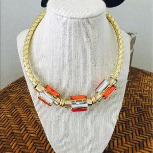 Zara Jewelry - Modern Retro Braided Necklace