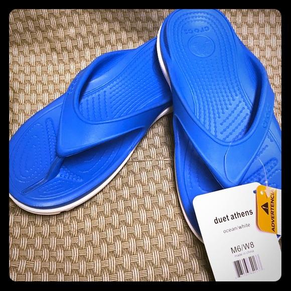 c666efa6fdd801 crocs duet athens comfortable flip crocs official store exquisite ...