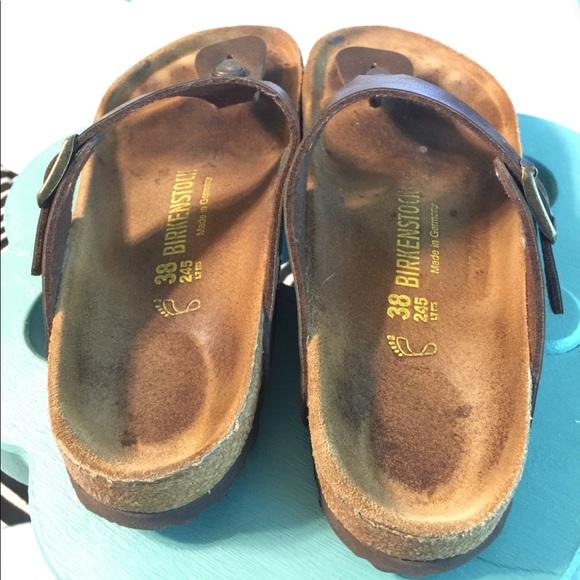 49 off birkenstock shoes birkenstock gizeh sandal 38. Black Bedroom Furniture Sets. Home Design Ideas