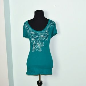 New York & Company Tops - New York and Company Printed Top
