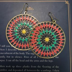 Jewelry - Colorful Statement Earrings