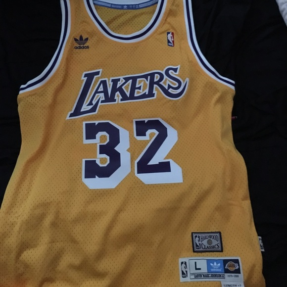 new arrival 3864f 57410 Lakers Magic Johnson Jersey NWT