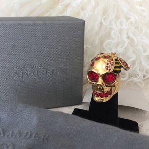 Alexander McQueen Jewelry - Alexander McQueen Skull and Bee Ring
