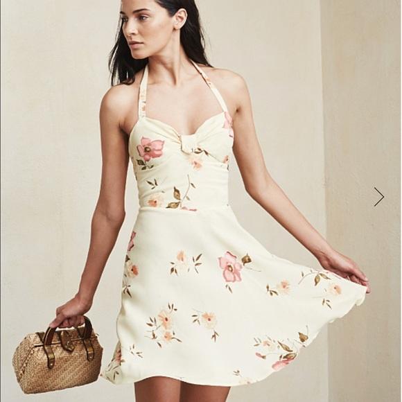 Reformation Dresses - Reformation Marion Halter Mini Dress, size 4