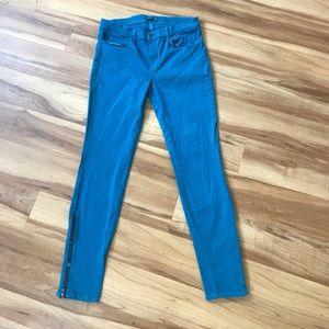 J Brand Denim - J Brand skinny Jeans Azure sz 31 bottom zipper