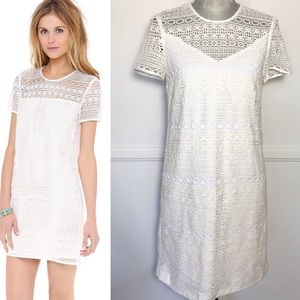 JUICY COUTURE Linear Lace Dress