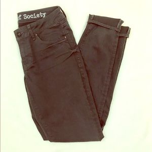 Articles Of Society Denim - Articles of society charcoal skinny jeans