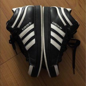 Adidas men's Kareem Abdul Jabber sneakers.