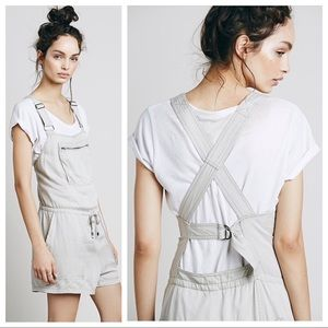NWT - Free People Backless Shortall