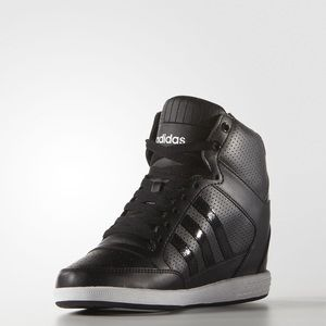 adidas Shoes - 🔥🔥 ADIDAS BLACK WEDGE SNEAKERS 🔥🔥