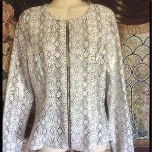 Jackets & Blazers - **Host Pick** 💝 Python Print Jacket