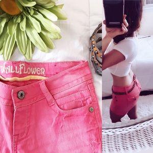 Wallflower Pants - 🌸Wallflower cuffed denim shorts🌸