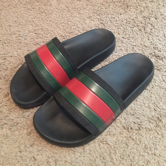 bd077e55c517 Gucci Shoes - Authentic Gucci slides! Men s size 7   women s 9