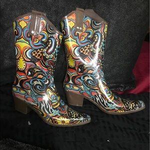 Shoes - Rain Bops by Beehive Cowboy Style Rain 12