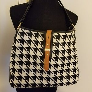 Spartina 449 Handbags - Spartina 449 houndstooth purse NWOT