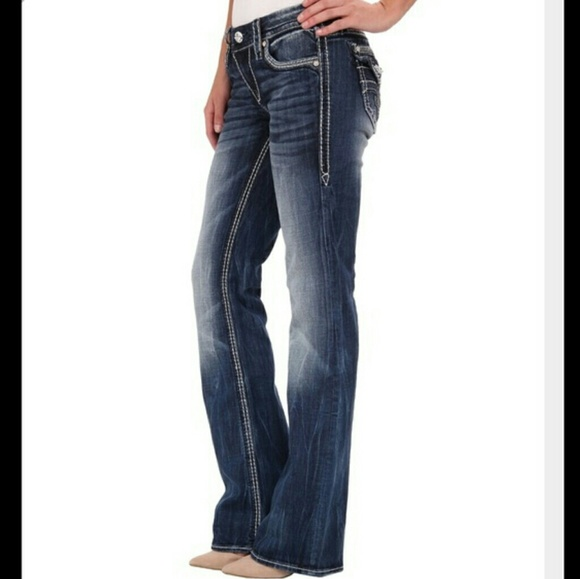 604a7531cce ROCK REVIVAL Maggie Boot Easy Jeans