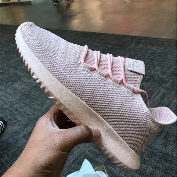 wide varieties official shop wholesale dealer Adidas tubular shadow knit (light pink) NWT