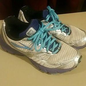 Brooks Shoes - Brooks Launch size 8.5 blue, grey, purple