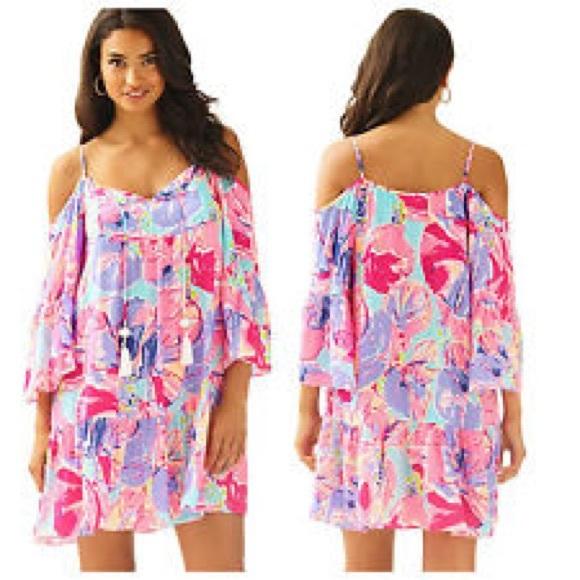 d8d3c20d7cedb Lilly Pulitzer Dresses   Skirts - Lilly Pulitzer Alanna Dress Jam Out  🌴🌸🌺🌸