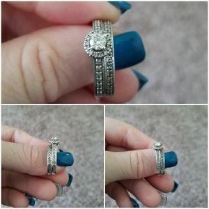 Jewelry - 1/2 Carat Round Diamond Bridal Set