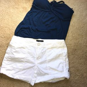 Sanctuary Pants - SANCTUARY CLOTHING WHITE SHORTS