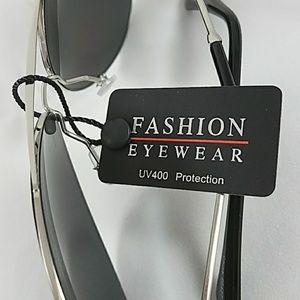 Accessories - Gray silver frame Aviator women's Sunglasses