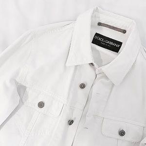 """Dolce & Gabbana Jackets & Blazers - Dolce & Gabbana """"Slouchy"""" Denim Jacket"""