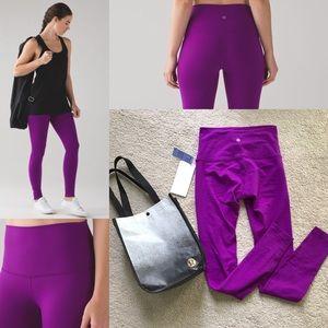 lululemon athletica Pants - NWT wunder under III brushed tender violet high 6