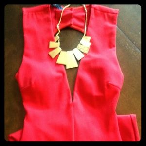 Dresses & Skirts - Below the knee fitted red dress