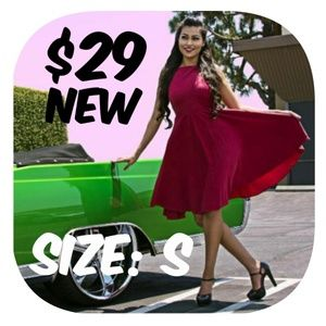 Dresses & Skirts - Full Circle Pin Up Dapper Girl Dress Vintage Style