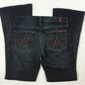 7 For All Mankind Denim - 7 for all mankind Dark Wash A Pocket Jeans