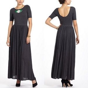 Anthropologie Scoop Back Maxi Dress