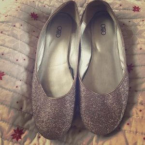 Cato Shoes - Size 7 Catos Glitter Flats