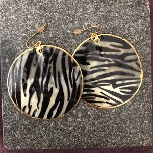 Jewelry - Animal print party earrings