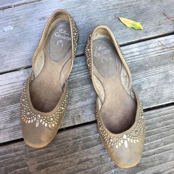 in China for sale low price online Calleen Cordero Suede Distressed Flats outlet many kinds of outlet sale discount lowest price 45wBA