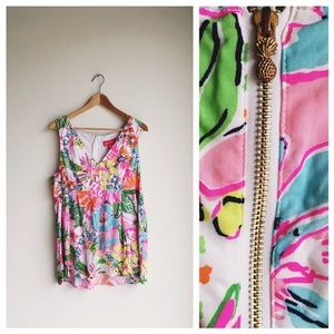 Lilly Pulitzer for Target Tops - Lilly Pulitzer Nosie Posey tank top