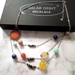 ThinkGeek Jewelry - ThinkGeek Solar Orbit Necklace